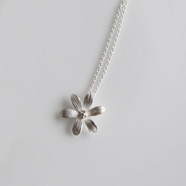 sv925 - 6枚の花びらのネックレスの画像1枚目