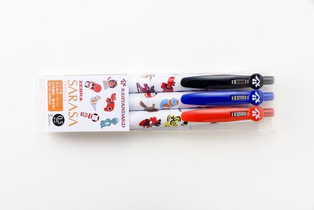 3色セットボールペン 東北づくし柄の画像1枚目