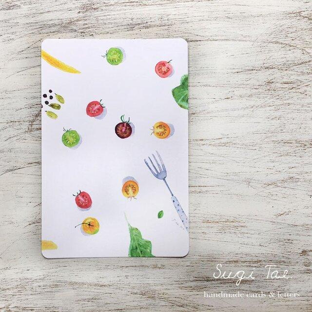 Fresh Vegetables カラフルトマトのカードの画像1枚目
