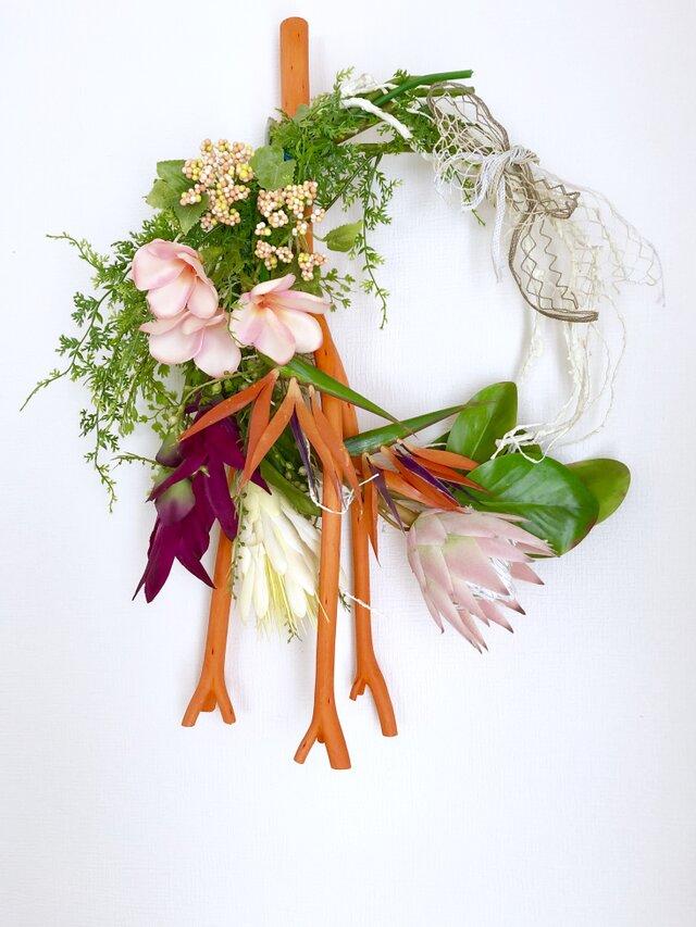 Wild flower wreath VIの画像1枚目