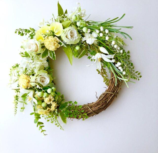 Spring wreath roseの画像1枚目