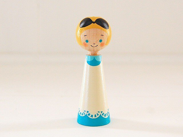 [conocokeshi]指人形・hand puppet[37]アリスの画像1枚目