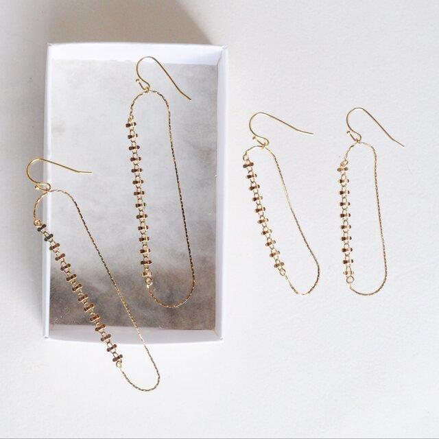 よつば earrings longの画像1枚目
