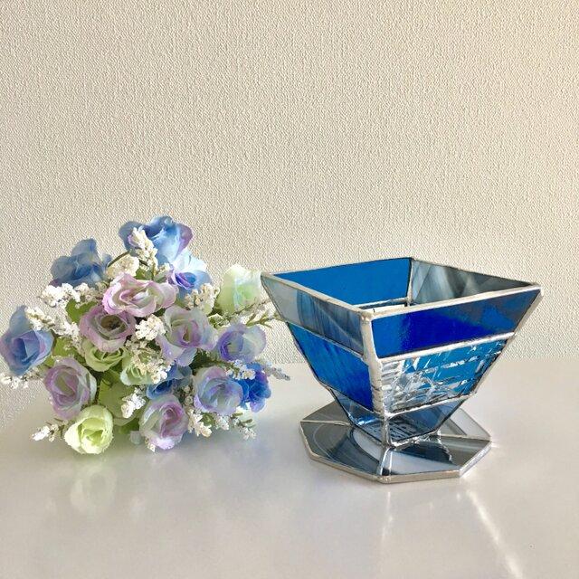 『デイドリーム  ディアマン』ロイヤルブルー ガラス Bay Viewの画像1枚目