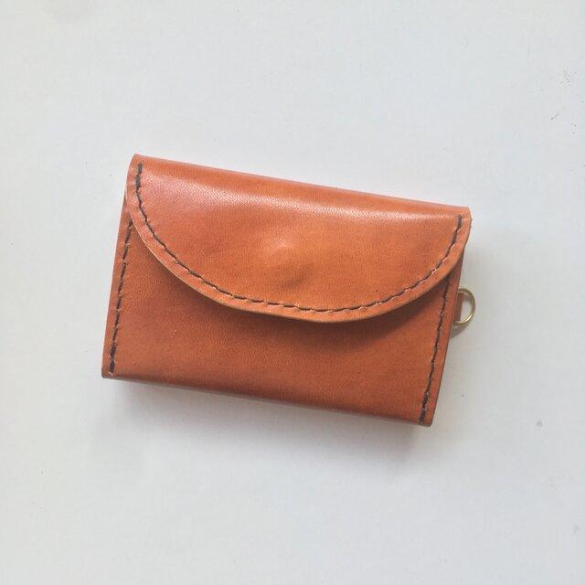 【お札もカードも入る】コンパクトウォレット 小さい財布の画像1枚目