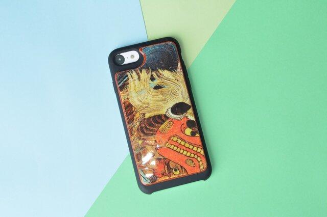 【即納】iPhone8ケース アイフォンケース スケートボード 木製 木目 高品質 職人手作り 薄型の画像1枚目