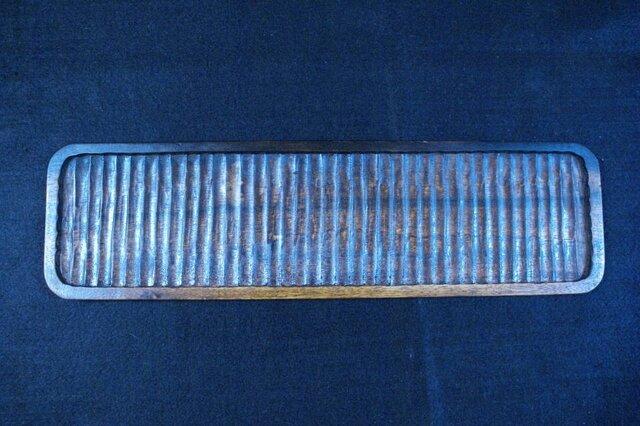 黒柿拭漆盆・我谷盆 102mm×367mm×12mm № T1734の画像1枚目