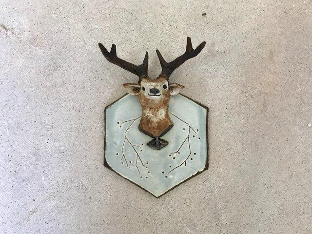 鹿のキーフックの画像1枚目