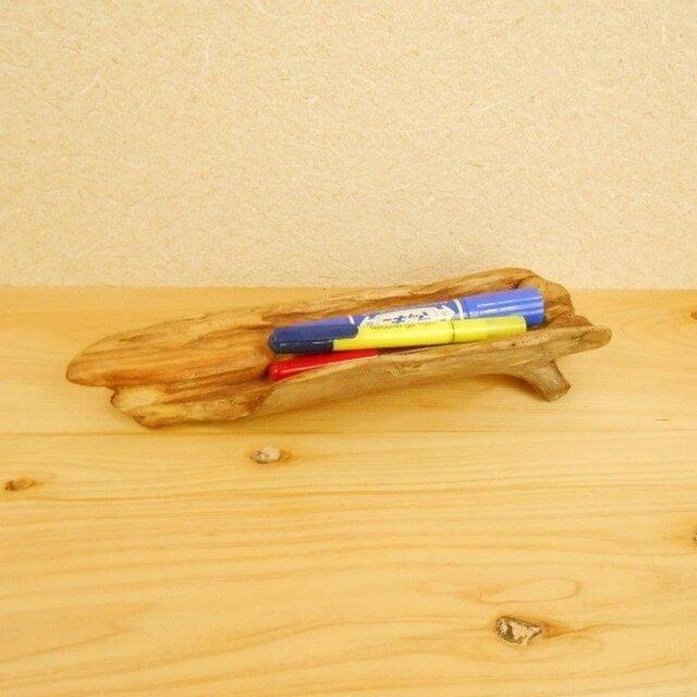 【温泉流木】木の幹くり抜きの流木入れ物 流木インテリア 流木アートの画像1枚目