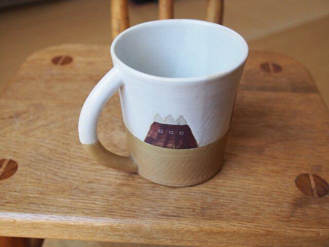 house模様のコーヒーカップの画像1枚目