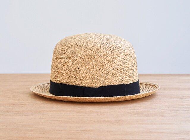 Bowler Hat - bao × raffiaの画像1枚目