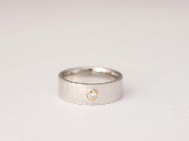 n様専用ページ SV・K18ダイヤモンドリングの画像1枚目