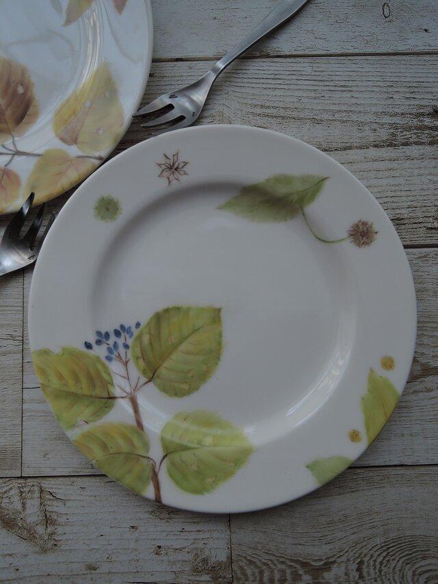 木の葉のお皿2枚 1 セットの画像1枚目