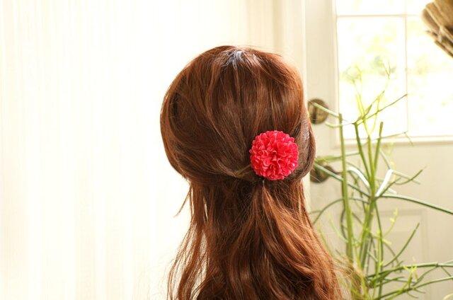 ピンクマムのヘアアクセの画像1枚目