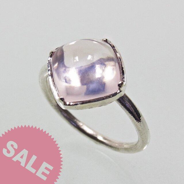 [SALE] ローズ・クォーツ Rose Quartz Ringの画像1枚目
