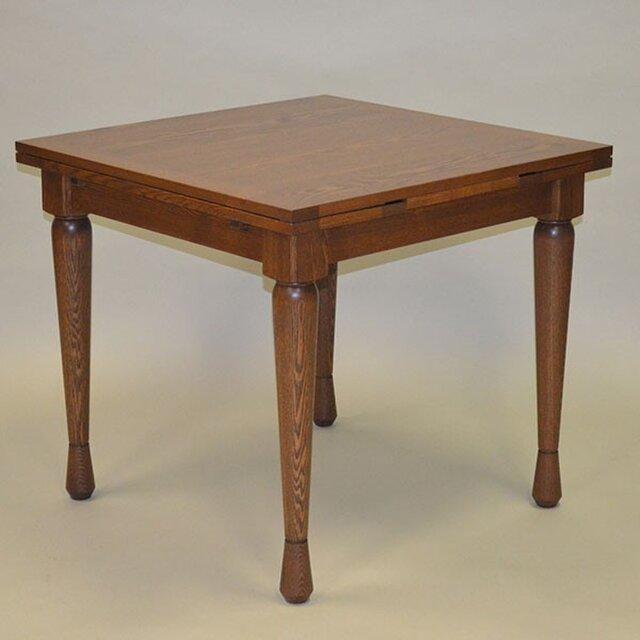 ドローリーフテーブル タモの画像1枚目