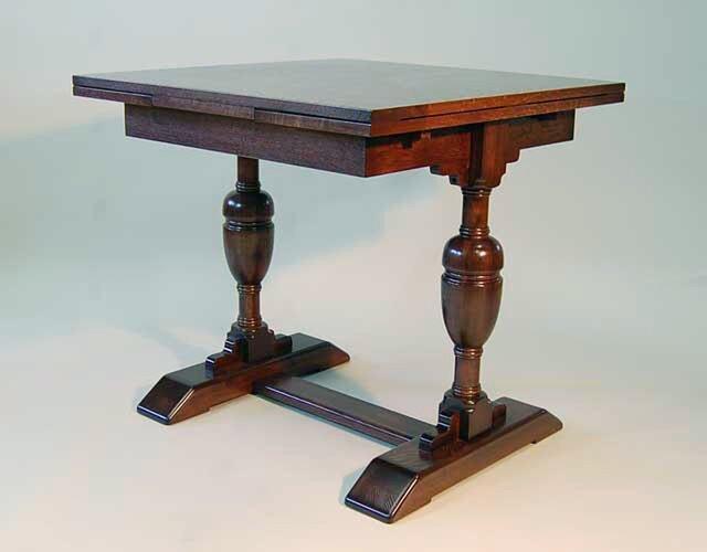 ドローリーフテーブル 楢の画像1枚目