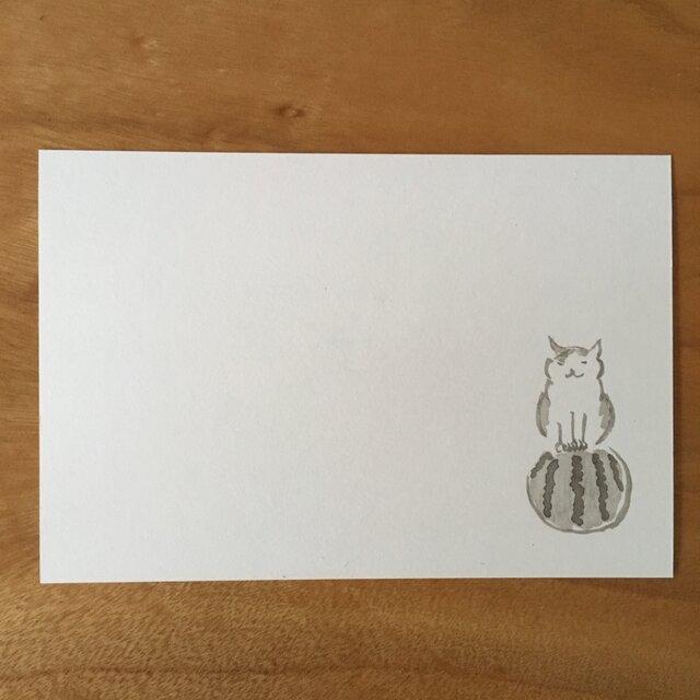 絵葉書/ポストカード <すいか>の画像1枚目