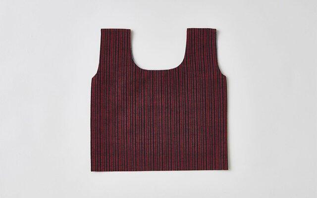 日本の布の手提げ|遠州織物|冬至の画像1枚目