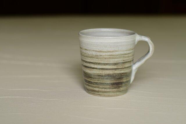 白と黒のマグカップ iMw-001の画像1枚目