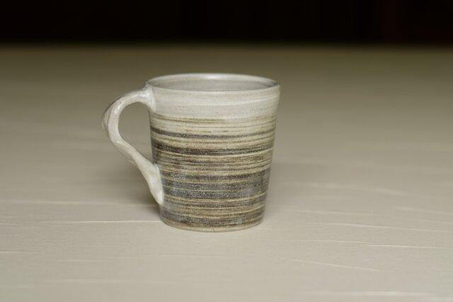 白と黒のマグカップ iMw-002の画像1枚目