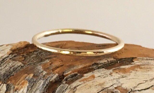 金の指輪◇K14の画像1枚目