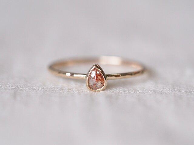 Baby Cherry Diamond Ringの画像1枚目