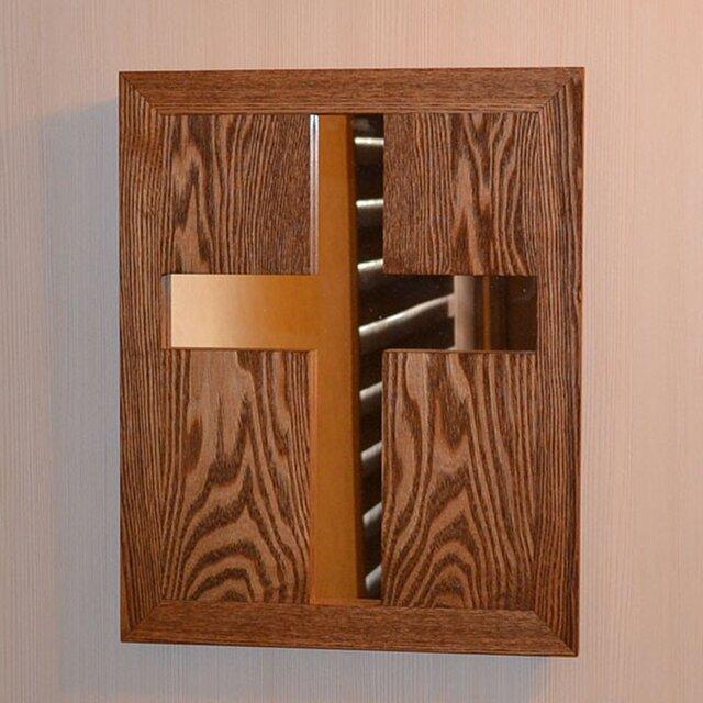 十字架ミラー(cross mirror)の画像1枚目