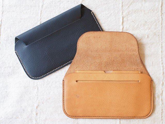 手縫い長財布 BEIGE(牛革)の画像1枚目