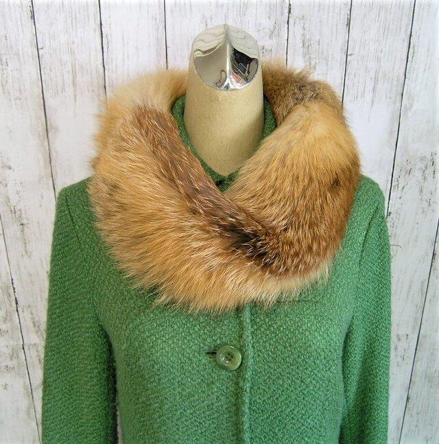¶ new antique fur ¶ レッドフォックスファーnejiriスヌード「redo」再販の画像1枚目