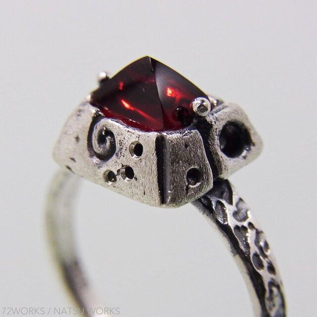 スピネル Red Spinel Ring ④の画像1枚目