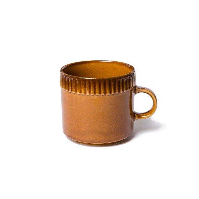 blur コーヒーカップM Brownの画像1枚目