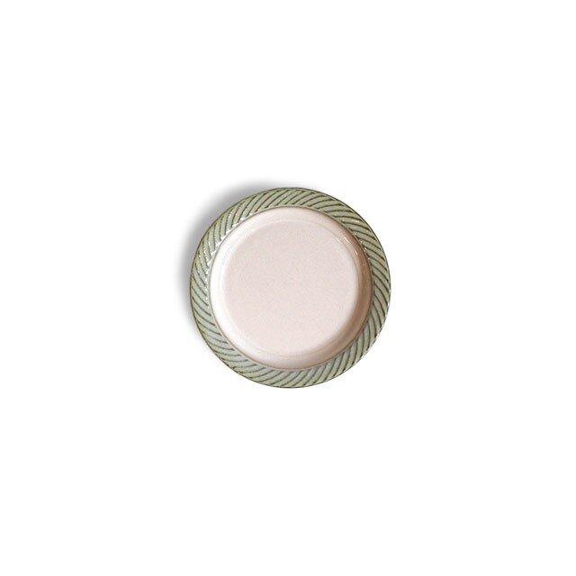 blur 10cmプレート Whiteの画像1枚目
