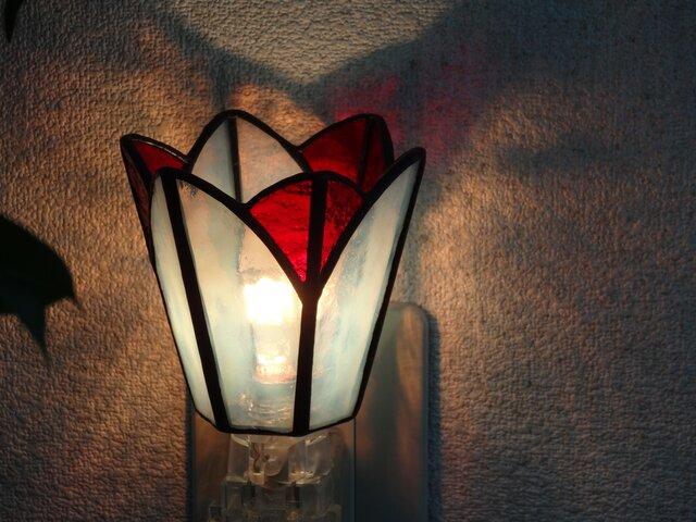 おやすみランプ・お花がさいたの画像1枚目
