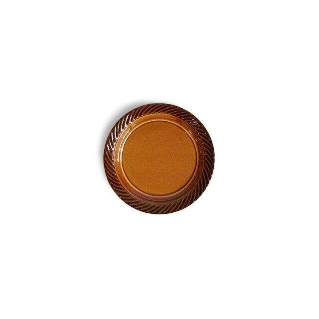 blur 10cmプレート Brownの画像1枚目