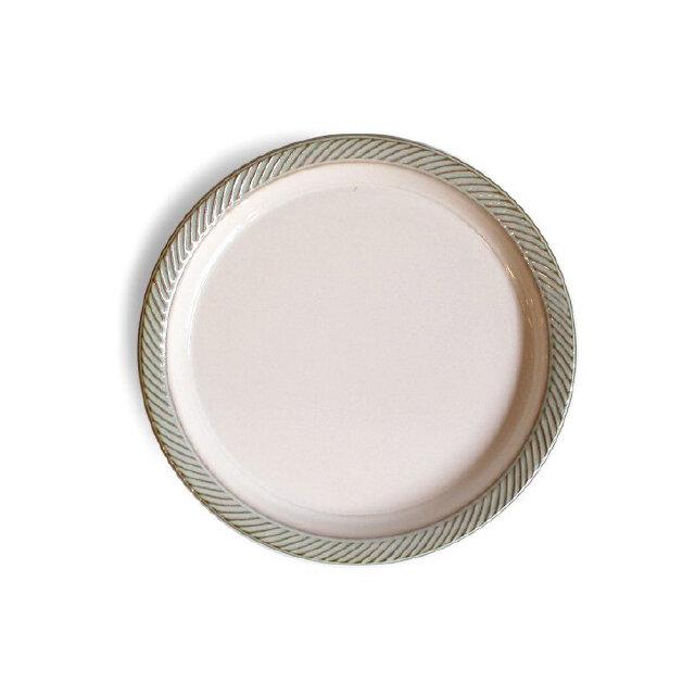 blur 20cmプレート Whiteの画像1枚目