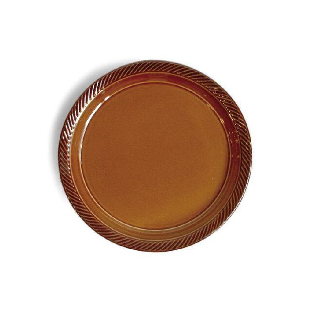 blur 20cmプレート Brownの画像1枚目