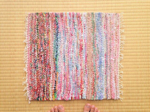裂き織りマットEの画像1枚目