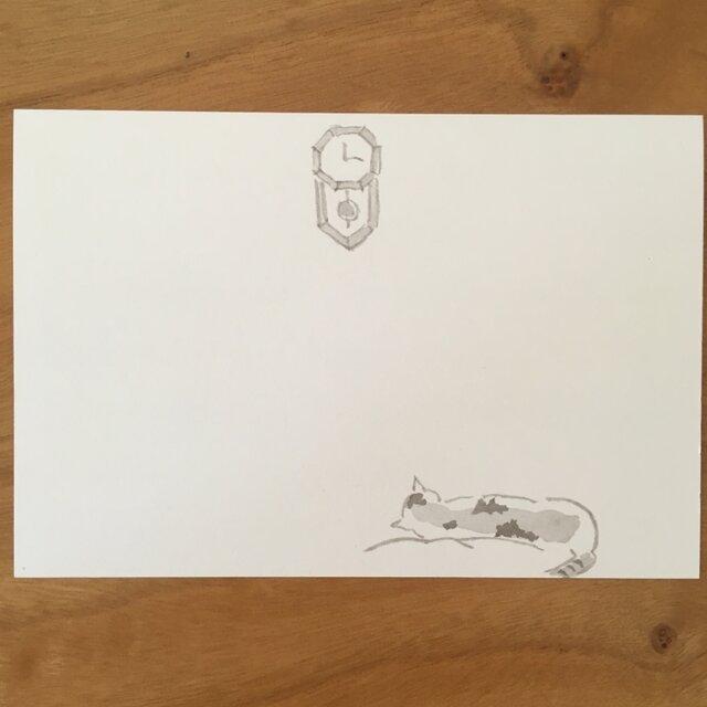 絵葉書/ポストカード <静かな時間>の画像1枚目
