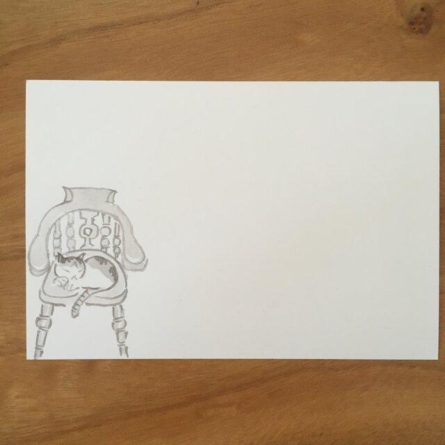 絵葉書/ポストカード <椅子>の画像1枚目