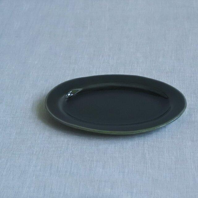 オーバル皿 S 呉州釉の画像1枚目