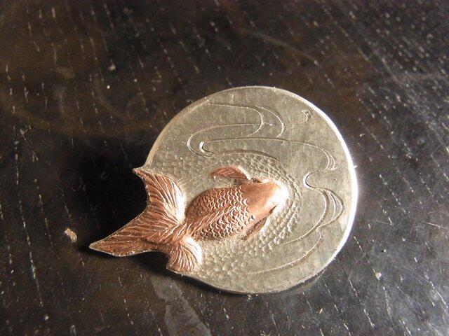 【特注】【帯留め用】セミオーダー【金魚金具2】の画像1枚目