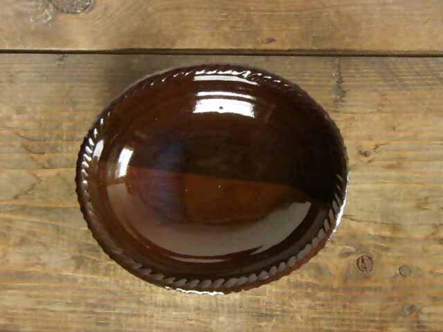 オーバル皿/ツートンカラーの画像1枚目