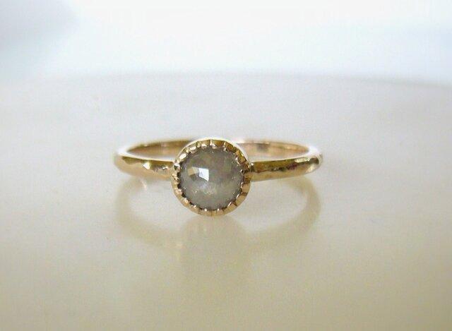 「P様オーダーメイド ナチュラルダイヤの指輪」の画像1枚目