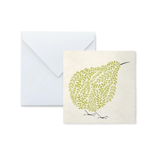 Fluffy メッセージカード Kiwiの画像1枚目