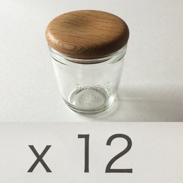 (受注制作)モロゾフのプリンを食べた後にwood capを#5x12の画像1枚目