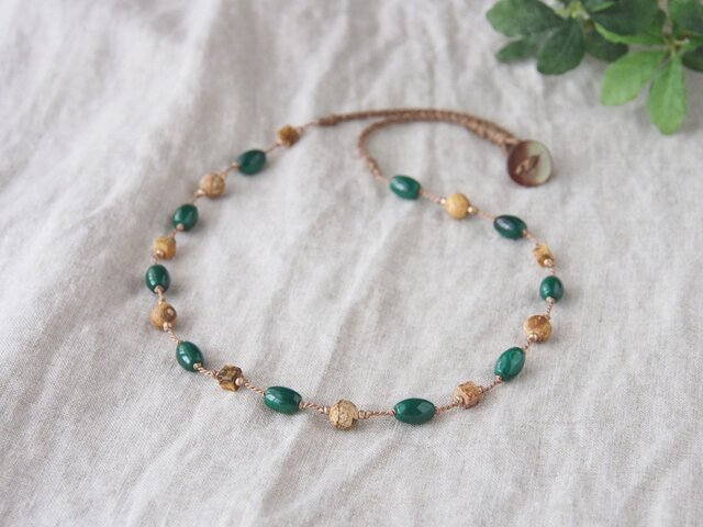 Green&Earth Necklaceの画像1枚目