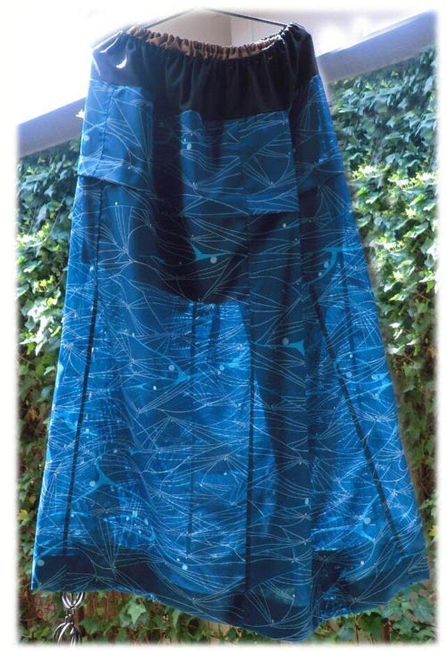 絽のロングスカート(シルクの裏地スカート付き)の画像1枚目