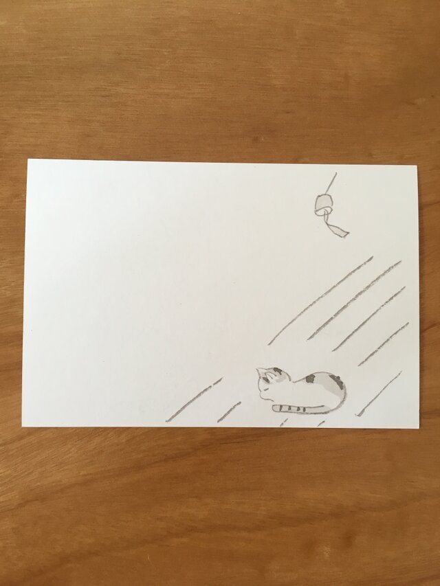 絵葉書/ポストカード <ウトウト>の画像1枚目