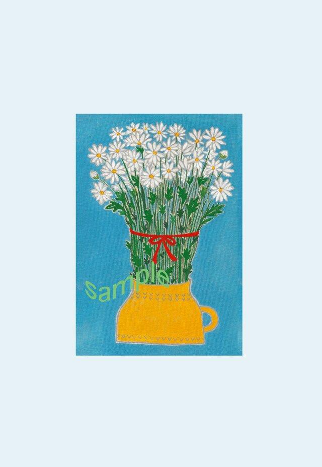 [A¥480] ポストカード 3枚set :019番 「マーガレット」の画像1枚目